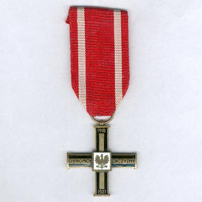Cross for the War of 1918-1921 (Krzyż za udział w Wojnie 1918-1921)