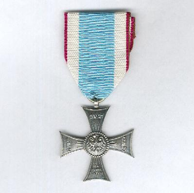 Commemorative Silesian Cross of Merit (?l?ski Krzy? pamiatkowy za Zas?ugi), collector's copy