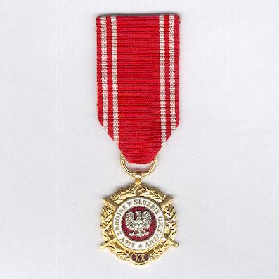 Armed Forces in the Service of the Country, Long Service Medal (Medal Siły Zbrojne w Słuźbie Ojczyzny) for twenty years' service