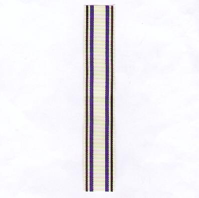 GERMANY, BAVARIA. Ribbon for the Military Merit Cross, combatant (BAYERN. Ordensband für das Militärverdienstkreuz, Kämpfer)
