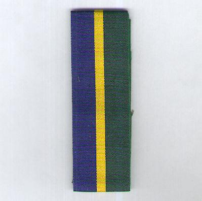 GREAT BRITAIN. Ribbon for the Efficiency Decoration, 1969-2000