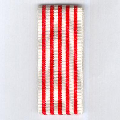 FRANCE. Ribbon for the Medal Commemorative of the Great War (Coup de ruban pour la Médaille Commémorative de la Grande Guerre) 1914-1918