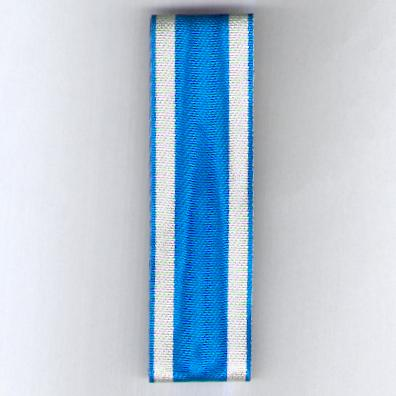 ROMANIA. Ribbon for the Order of the Crown of Romania (Panglică Ordinului Coroana României) 1881-1932