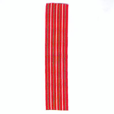 OMAN. Ribbon for the Glorious Fifteenth National Day Medal, 1985