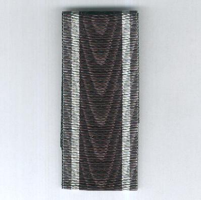 GERMANY, BAVARIA. Ribbon for the Military Medal of Merit (BAYERN. Ordensband für die Militär-Verdienst-Medaille)