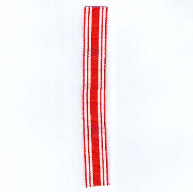 Ribbon for Medals of the Imperial Japanese Red Cross Society (?????? nihon sekij?ji sha), miniature