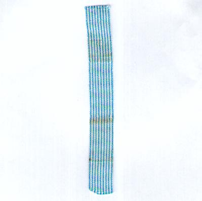 UNITED NATIONS. Ribbon for the Korea Medal, 1950-1953, miniature