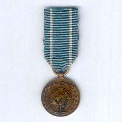 United Nations Medal, miniature