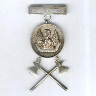 Independent Order of Odd Fellows, Presentation Jewel of the Phoenix Orphanage Pioneers, attributed in 1895, by John James Durrant & Son, silver hallmarks for London 1894
