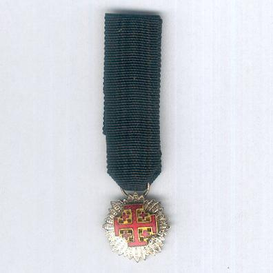 Equestrian Order of the Holy Sepulchre of Jerusalem, Knight of the Grand Cross, miniature