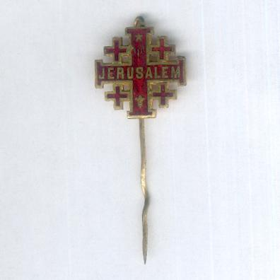 Jerusalem Cross stickpin