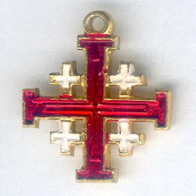 Jerusalem Cross, miniature