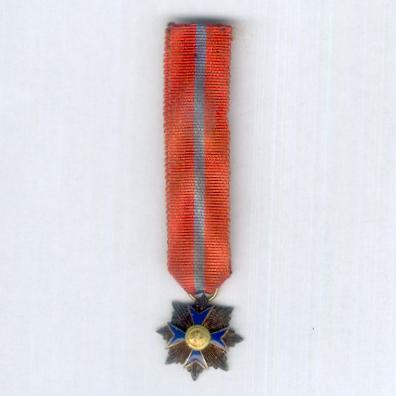 Equestrian Order of Saint Mary of Bethlehem, Knight Grand Cross, miniature